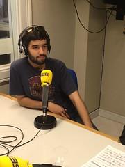Iago Domínguez entrevistado en la cadena Ser