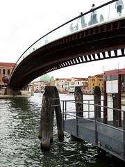 Calatrava's bridge (Shahrazad26) Tags: santiagocalatrava architectuur architecture venetië venezia venice venedig italië italy italien italia bridge brug brücke pont ponte