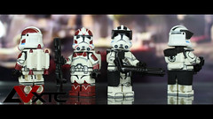 Heavy & Jump Troopers - Battlefront 2 (AndrewVxtc) Tags: lego star wars custom clone troopers rots aotc phase 2 heavy jet jump battlefront ea 2017 andrewvxtc
