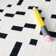 Crossword Puzzle (jigsawjo) Tags: lego crossword puzzle crosswordpuzzle pencil