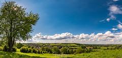 Zuid Limburg - the Netherlands (Henk Verheyen) Tags: landscape landschap limburg nl nederland netherlands zuidlimburg dutchmountains green groen heuvels lente spring gras zon ster star sun wolken clouds