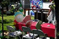 2016-Carman & Friends Tea Party Outside SDCC-01 (David Cummings62) Tags: sandiego ca calif california comiccon con david dave cummings southpark animated series tvseries cartoonnetwork sets outside carman teaparty