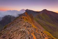 S W Y N O (elganjones1) Tags: crib goch snowdonia outdoors hiking eryri gwynedd elgan jones sunset light