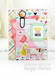 Bless This Mess (akeptlife) Tags: card cardmaking papercrafting simplestories domesticbliss family friends home house housework housewarming