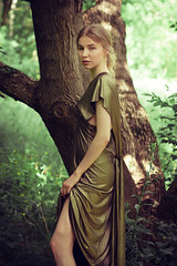 Kinga (lucrecia lee) Tags: beauty beautiful blonde longhair light tree woman wavyhair youngwoman young bun sensual subtle seductive stylish sexy shadow shoulders amazing dreamy daydreaming delicate colourful colour girl gorgeous graceful glamour glamorous gown portrait pretty trees park forest