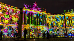 Humboldt University Library Festival of Lights (KSDiaz) Tags: berlin germany festival lights nightscape landscape after dark guardians light night projector design color guardiansoftime time mysterious