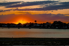 Jersey sunset (juliangarcia922) Tags: sunset asbury park sun nj sky summer