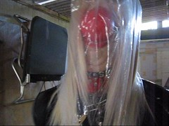 PatsyPVC Sissy Fetish  Bondage Slut in Garage Bondage Storage Dressed in a Tight Latex Dress, Seamed Black Stockings and Shiny 6 inch High Heels. Firmly Ballgagged and Fully Tied up and Pole Tied Bound and abandoned with Plastic bag Hood for Restrictive B (PATSYPVC Transvestite) Tags: latexdress outdoors rubberdress shinylatex buttplug analslut patsypvc pvcsuspenderbelt shinystockings fetishslut transvestite crossdresser crossdressing latexslut pvcslut slut sissyslut cocksuckingslut cocksucker bondageslut tiedup ballgagged analbuttplug plasticbaghooded plasticbagbreathplay bondagebreathplay patsypvcbondagefetishslut pvcfetishslut latexbondagefetishslut breathlessplasticbaghooded breathlessbondage bondageplasticbaghooded ballgaggedandplasticbaghooded breathplayplasticbaghooded outdoorbondage bondage patsypvcbondageslut
