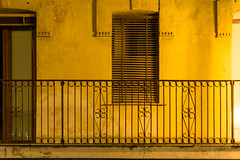 the light of color (pat.netwalk) Tags: italy color lights beige yellow copyrightpatrickfrank bildgutch pizzo calabria balcony