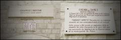 (Ombre&Lumiere) Tags: patrimoine aisne picardie 02 chemindesdames lieuxdemémoire lagrandeguerre 1418 cdd chapellesteberthe