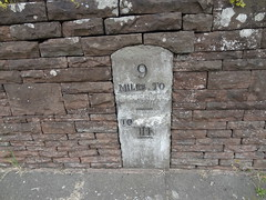 Westbury on severn (Yercombe) Tags: milestone