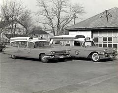 Cadillac ambulances (CasketCoach) Tags: ambulance ambulancia ambulanz ambulans rettungswagen krankenwagen paramedic ems emt emergencymedicalservice firefighter cadillac