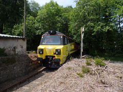 70817 Moorswater (26) (Marky7890) Tags: colasrail 70817 class70 6c35 moorswater liskeard cornwall railway train