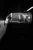 Subway shadow (freddappell) Tags: paris street streetphotography streetphoto blackandwhite noiretblanc bnw bw métro métroparisien subway girl shadow