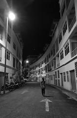 Back alley (bdrc) Tags: back alley candid street blackandwhite black white blackwhite monochrome icity night outdoor klang huawei p10 handphone mobile phone leica summilux city urban asdgraphy