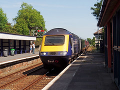 43133 Liskeard (Marky7890) Tags: gwr 43133 class43 hst 1c82 liskeard railway cornwall cornishmainline train
