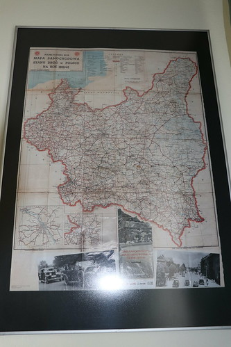Mapa Polski z 1939 roku