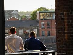 Dublin heatwave [June 2017], bless or mess? (STANDARDBLANC.COM) Tags: sony hx50 dublin heatwave sunny terrace friends colour summer spring houseparty high drugs weed