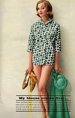 M. Serman and Co. 1960 (barbiescanner) Tags: msermanandco vintage retro fashion seventeen vintagefashion vintageads 60s 60sfashions 1960s