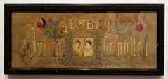 20170421_150255 (jaglazier) Tags: 19thcentury 19thcenturyad 42117 absentbutnotforgotten adults april canada commercialart copyright2017jamesaglazier embroidery english history kindwordscanneverdieapersonalcollectionofvictorianneedlework kitsch northamerican ontario plants portraits roses specialexhibits textilemuseumofcanada textiles toronto ugly urbanism victorian women art cities crafts flowers frames inscriptions museums needlepoint photographs photos sentimental woodenframes writing