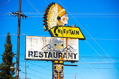 Hey Chief, What's Up? (Thomas Hawk) Tags: america chieftain chieftainrestaurant tacoma usa unitedstates unitedstatesofamerica washington washingtonstate indian neon restaurant us fav10 fav25 fav50 fav100