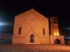 Rhodes old town (AlexKapunkt) Tags: greece church mandraki rhodes night