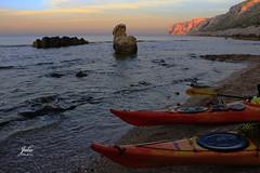 Canoas (Julio Millán) Tags: paisaje mar agua cielo atardecer ocaso lesrotes dénia alicante españa