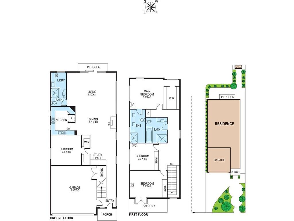 1/108 Truganini Road floorplan