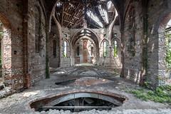 Requiem (maxmene70) Tags: church chiesa light dark urbex canon wide sky ray raggi decay abbandono urban old building abandoned exploration faith