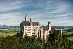 Schloss Neuschwanstein (Nir Roitman) Tags: landscape nature travel clouds cloud cloudscape sky skyscape europe gemany schloss neuschwanstein