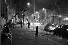 King's Road Chelsea at night (Bonngasse20) Tags: chelsea kingsroad night monochrome