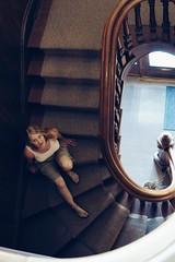Staircase (timvandenhoek1) Tags: staircase stairwell steps stairs banister railing mainstreetbedandbreakfast bank wife spouse katie hotel hannibalmissouri midwest historicsite historicdowntown mainstreet landmark