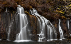 Waterfalls of Iceland (Mika Laitinen) Tags: canon5dmarkiv europe hraunfossar iceland leefilters color landscape longexposure nature outdoors river rock water waterfall