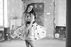La belle au pays interdit (stéph41) Tags: noir et blanc monochrone modèle noiretblanc blackandwhite monochrome extérieur model bw outside dress