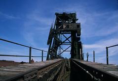 Abandoned coal loading dock 20 (stevensiegel260) Tags: industrial coalloadingdock portreading arthurkill railroad ruin abandoned