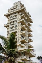 fancy oceanfront apartment building in Mumbai (alex1derr) Tags: india mumbai apartment