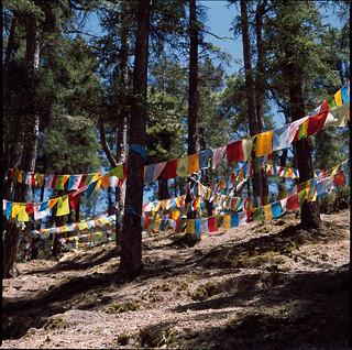 Tibetan flags, Yunnan
