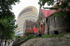 Red Roof Church (5of7) Tags: redroofchurch stjohntheevangelist parish anglicandioceseofmontreal anglican church montreal quebec canada edmundwood 1861 fav old new oldnew urbandesign 9fav