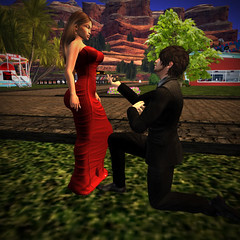 She Said Yes (Kaironne) Tags: secondlife proposal love second lfe engagement