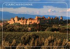 postcard - Carcassonne 6 (Jassy-50) Tags: postcard carcassonne france unescoworldheritagesite unescoworldheritage unesco worldheritagesite worldheritage whs