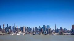 NYC Skyline (Jemlnlx) Tags: canon eos 5d mark iv 5div 5d4 ef 1635mm f4 l usm is new york city skyline nyc ny weehawken nj jersey jfk blvd boulevard east view tiffen bw filter filters gnd graduated neutral density circular polarizer polarizing landscape