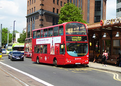 AL DW94 - LJ54BFP - WEST CROYDON BUS STATION - WED 24TH MAY 2017 (Bexleybus) Tags: croydon south london west bus station arriva al wrightbus gemini daf lj54bfp dw94 tfl route 264