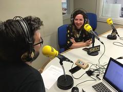 Magazine de Radio Galicia - Cadena Ser con Ilona Timchenko y dos participantes de este edición