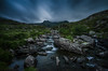 (Glen Parry Photography) Tags: mountins moorland sky clouds landscape longexposure grass water stream bigstopper walking snowdonia nationalpark nature rocks glenparryphotography nikon d7000 sigma sigma1020mm