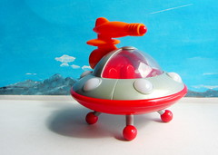 Happyland Early Learning Centre iPlay Ailen Space Ship UFO Flying Saucer With Sounds And Lights 2010 : Diorama Bonneville Salt Flats - 17 Of 17 (Kelvin64) Tags: happyland early learning centre iplay ailen space ship ufo flying saucer with sounds and lights 2010 diorama bonneville salt flats