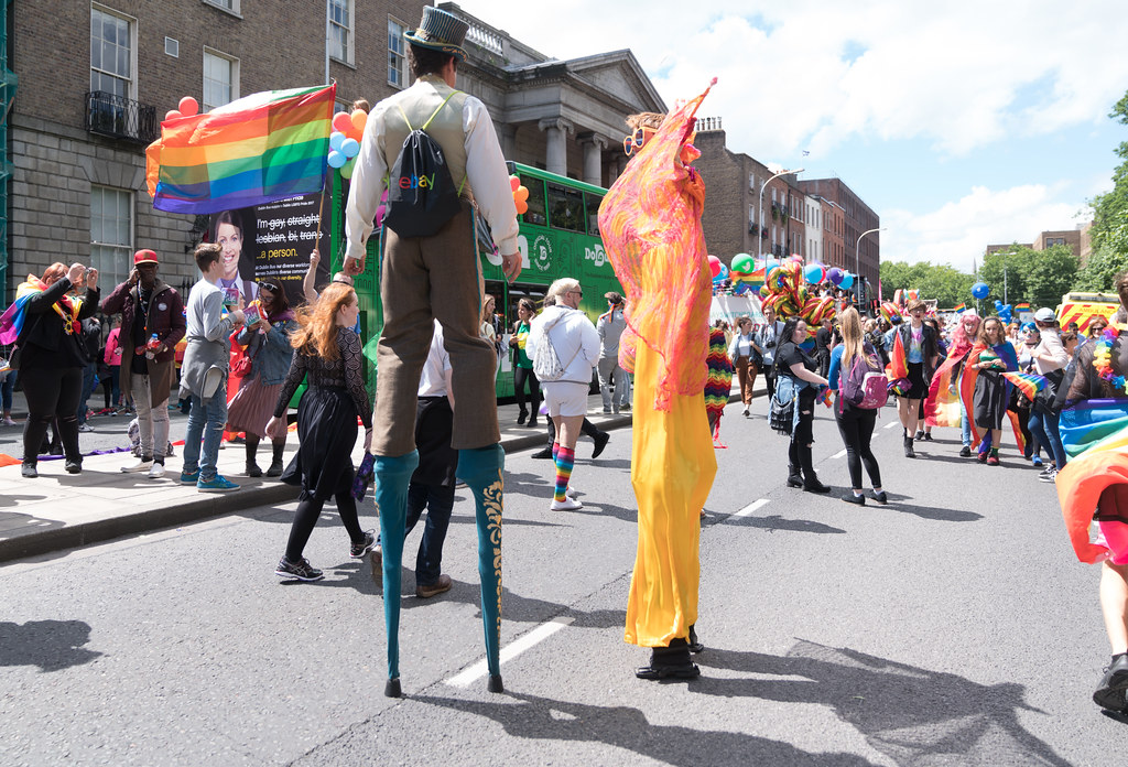LGBTQ+ PRIDE PARADE 2017 [STEPHENS GREEN BEFORE THE ACTUAL PARADE]-129938