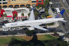 United Airlines Boeing 757 N57863 (Mark Harris photography) Tags: spotting aircraft lax plane aviation canon