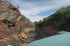 Slag Pile (Arrowhead Fan) Tags: verdecanyonrailroad arizona vcrr fp7 emd clarkdaleaz