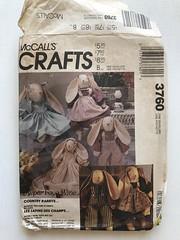 M3760 MCCALLS Crafts (PBunnieP) Tags: mccalls sewingpattern
