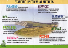 Green Party Campaign leaflet (s0ulsurfing) Tags: s0ulsurfing 2017 july news wwwjasonswaincouk image photography isleofwight isle wight island blatantselfpromotion green party politics campaign leaflet